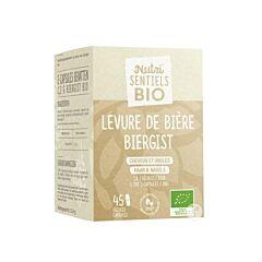 Nutrisentiels Bio Biergist 45 Capsules