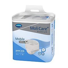 MoliCare Premium Mobile Incontinentieslip - 6 Druppels - Extra Small 14 Stuks