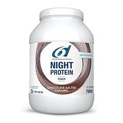 6D Sports Nutrition Night Protein Chocolade Gezouten Caramel 780g