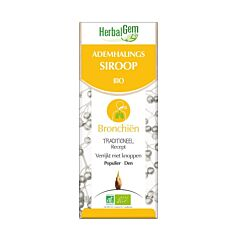 Herbalgem Siroop Ademhaling Bio 250ml