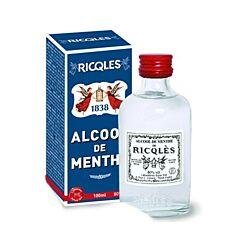 Ricqles Alcool de Menthe 80% Vol. Flacon 100ml