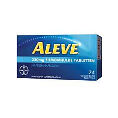 Aleve Naproxène Sodique 220mg 24 Comprimés Pelliculés