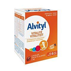 Alvityl Vitalité 40 Comprimés