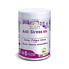 Be-Life Anti-Stress 600 Fatigue Intense 60 Gélules