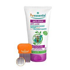 Puressentiel Anti-Luizen 2in1 Behandelende Shampoo 150ml + Kam