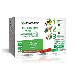 Arkofluides Bio Afslankprogramma 30x15ml Ampoules