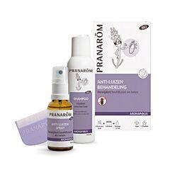 Pranarôm Aromapoux Anti-Luizen Behandeling Spray 30ml + Shampoo 125ml + Luizenkam