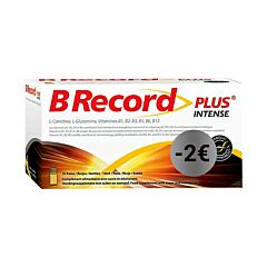 B Record Plus Intense Flesjes 10x10ml Promo - €2