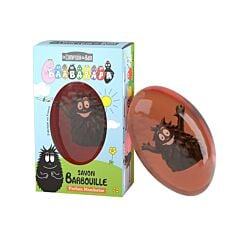 Le Comptoir du Bain Barbapapa Savon Barbouille Mandarine 81g + 1 Figurine