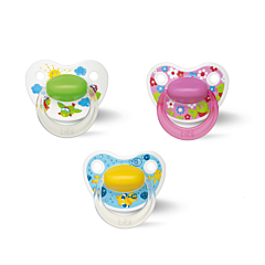 Bibi Fopspeen Happiness Dental Birdy 0-6m