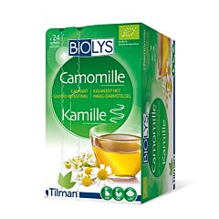 Biolys Calmant Gastro Intestinal Tisane Camomille 24 Infusions