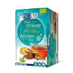 Biolys Thé de lHiver Tisane Cannelle Oranger 24 Infusions