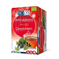 Biolys Articulations Tisane Cassis 24 Infusions