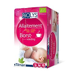 Biolys Allaitement Tisane Fenouil-Anis 24 Infusions
