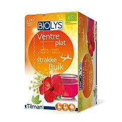 Biolys Ventre Plat Tisane Fenouil-Hibiscus 24 Infusions