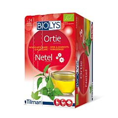 Biolys Fatigue Articulaire & Musculaire Tisane Ortie 24 Infusions