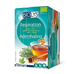 Biolys Respiration Tisane Thym-Eucalyptus-Miel 24 Infusions