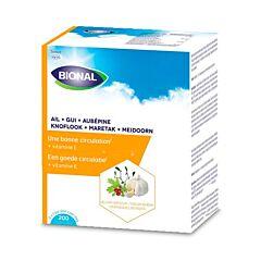 Bional Ail-Gui-Aubépine + Vitamine C Circulation 200 Gélules