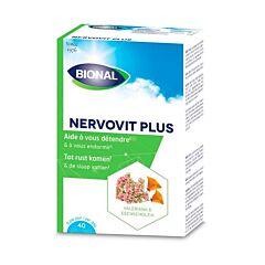 Bional Nervovit Plus Détente 40 Comprimés