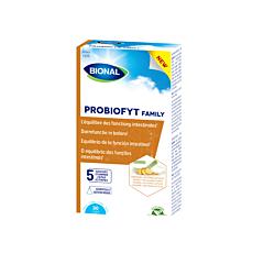 Bional Probiofyt Family Fonctions Intestinales 30 Gélules