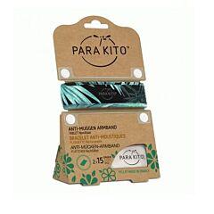 Parakito Bracelet Graffic Dark Explorer Anti-Moustiques + 2 Recharges