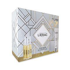 Lierac Coffret Cadeau Cica-Filler Anti-Rides Sérum 3x10ml + GRATUITS Gel-Crème 40ml & Trousse