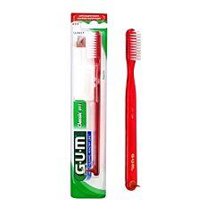Gum Classic Tandenborstel met Grote Kop 411 Volwassenen 1 Stuk