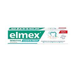 Elmex Sensitive Clean&Fresh Tandpasta 75ml