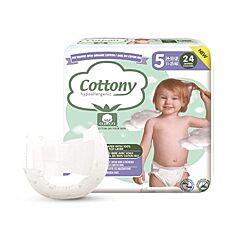 Cottony Couches Bébé - Taille 5 - 11-25kg - 24 Pièces
