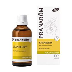 Pranarôm Huile Végétale Cranberry Bio Flacon 50ml