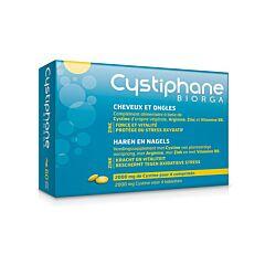 Cystiphane Biorga Cheveux & Ongles 60 Comprimés NF