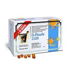 Pharma Nord D-Pearls 1520 PROMO 100 Gélules + 20 Gélules GRATUITES