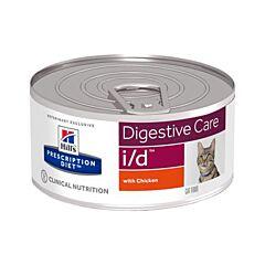 Hills Prescription Diet Feline Digestive Care i/d au Poulet 156g