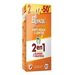 Elimax Lotion Anti-Luizen & Neten 2x100ml Promo 2de Lotion -50%