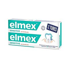 Elmex Sensitive Dentifrice Tube PROMO Duo 2x75ml NF