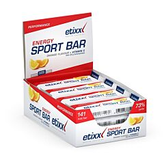 Etixx Energy Sport Bar Orange 12x40g