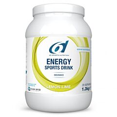 6d Energy Sports Drink Lemon Lime Poeder 1,3kg