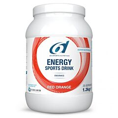 6d Energy Sports Drink Red Orange Poeder 1,3kg