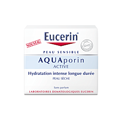 Eucerin AquaPorin Active Soin Hydratant Peau Sèche Pot 50ml