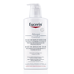 Eucerin AtopiControl Huile Bain & Douche Peau Sèche & Atopique Flacon Pompe 400ml