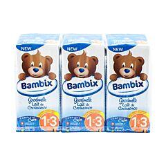 Bambix Groeimelk Natuur 1-3J 3x200ml