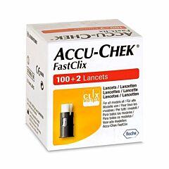 Accu-Chek FastClix 102 Lancettes