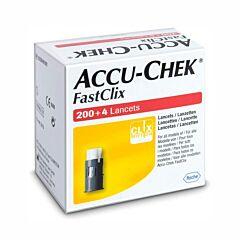 Accu-Chek FastClix 204 Lancettes