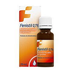 Fenistil 0,1% Drinkbare Oplossing 1mg/ml Druppels 20ml