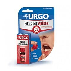 Urgo Filmogel Mondwondjes Aften Fruitsmaak 6ml