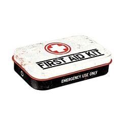 First Aid Kit Pepermuntdoosje - Wit 15g