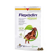 Flexadin Advanced + Boswellia Hond 30 Kauwtabletten