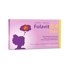 Folavit 0,4mg Start 90 Tabletten