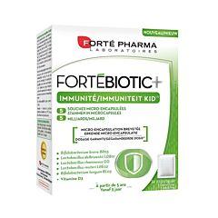 Forté Pharma FortéBiotic+ Immuniteit Kid Vanille 14 Zakjes