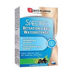 Forté Pharma Specific Waterretentie 56 Tabletten